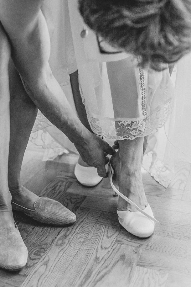 Hochzeit, Getting Ready, Hochzeitsfotos, Brautschuhe