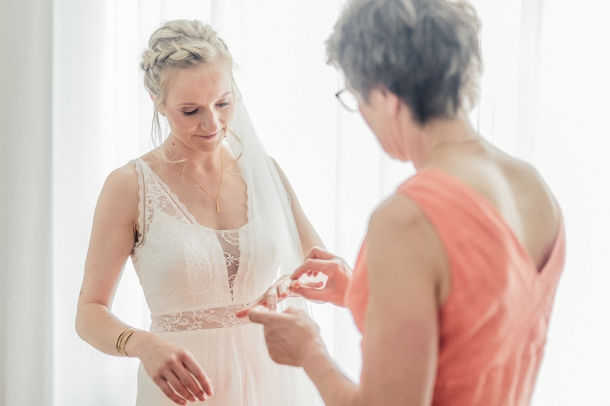 Hochzeit, Getting Ready, Hochzeitsfotos, Brautkleid, Braut