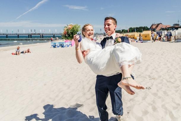 Hochzeit, Strand, Hochzeitsfotos, Brautpaar