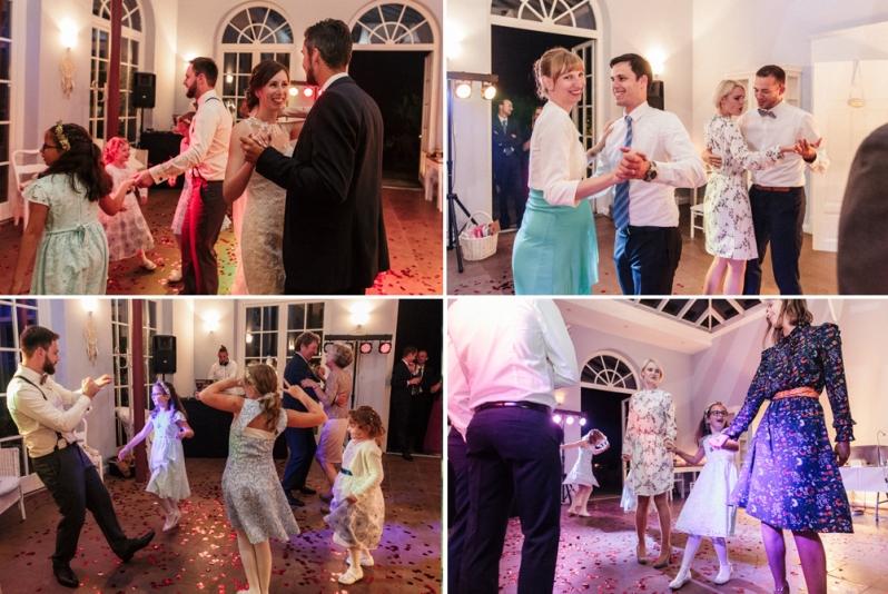Hochzeit, Feier