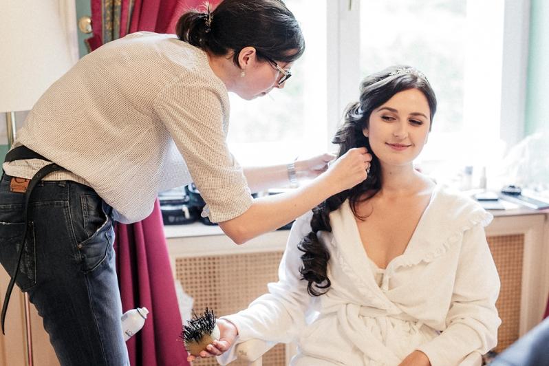 Hochzeit, Schloss Schorrsow, Getting Ready, Braut