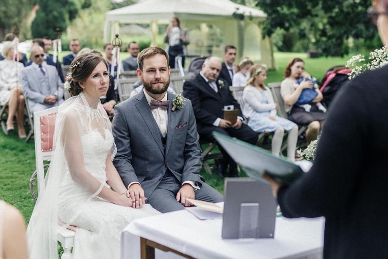 Hochzeit, Trauung, Brautpaar