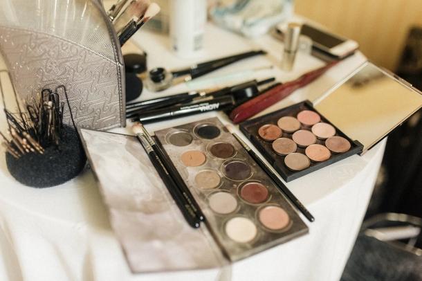 Hochzeit, Braut, Brautkleid, Getting Ready, Make up