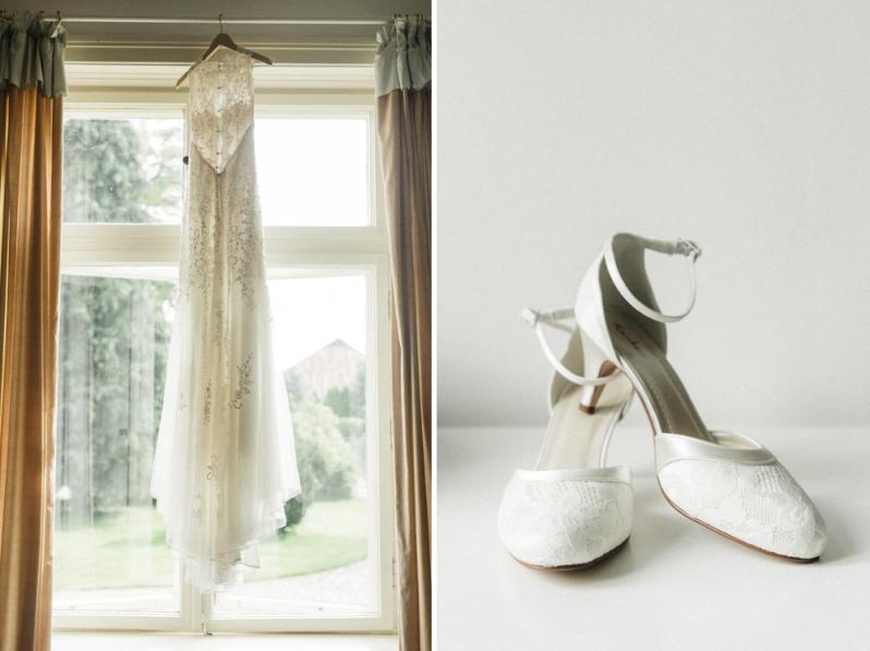 Hochzeit, Braut, Brautkleid, Getting Ready, Make up, Schuhe