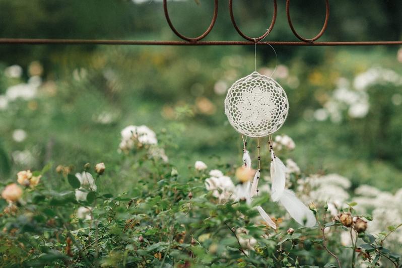 Hochzeit, Dekoration, Traumfänger