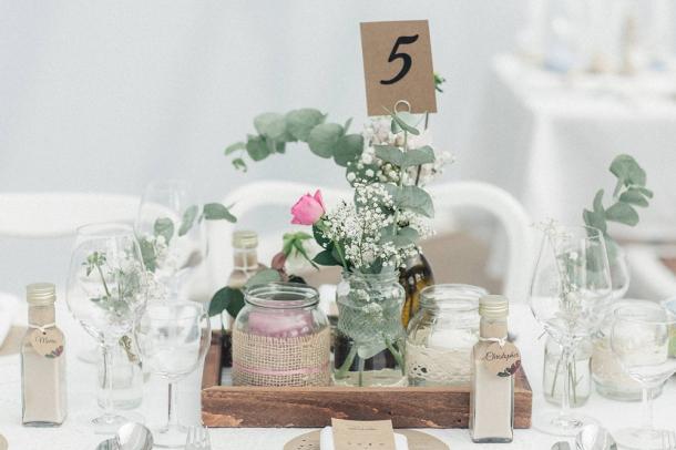 Hochzeit, Dekoration