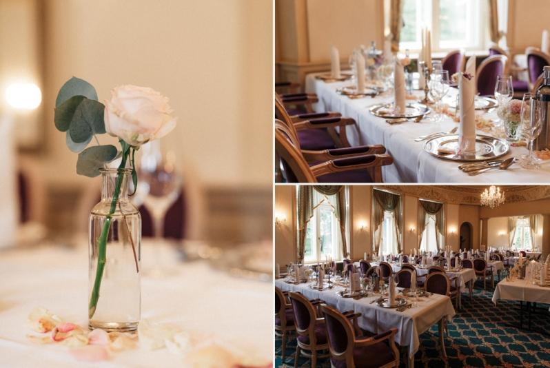 Hochzeit, Schloss Schorrsow, Dekoration