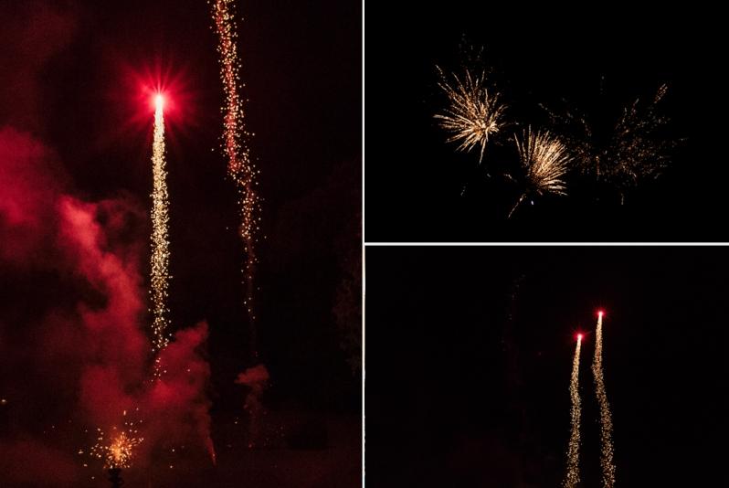 Hochzeit, Schloss Schorrsow, Brautpaar, Feuerwerk