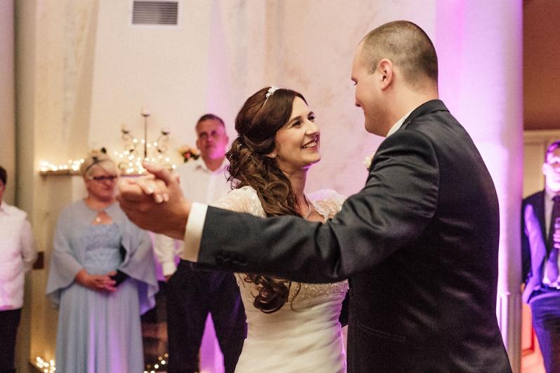 Hochzeit, Schloss Schorrsow, Brautpaar, Eröffnungstanz