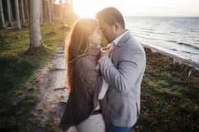 Sandra und Duc- Verlobungsshooting inRostock