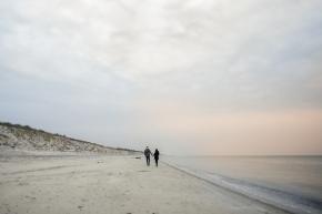 Lisa und John- Paarshoot in Dierhagen, FischlandDarß